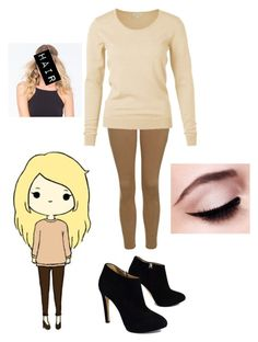 """""""✨""""Chibis"""" In Real Life✨"""" by ashleyneedstoshutup on Polyvore featuring Topshop, Giuseppe Zanotti, Full Tilt and Maybelline"""