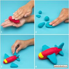 STEP BY STEP... Airplane