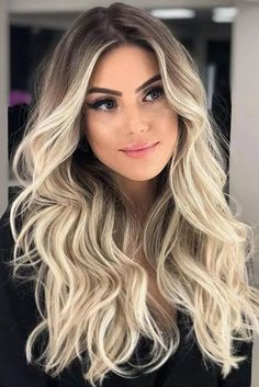 Icy Blonde Balayage ❤️ Are you looking for blonde ombre hair color ideas? We have collected the hottest and most gorgeous looks for you to try. See them before going to a salon. ❤️ Hair Ombre Hair Looks That Diversify Common Brown And Blonde Ombre Hair Blond Ombre, Icy Blonde, Blonde Wig, Ombre Hair Color, Hair Color Balayage, Platinum Blonde, Dark Brown Blonde Balayage, Dying Hair Blonde, Blonde Hair With Dark Roots