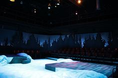 Almost Maine. Dixie State College of Utah. Scenic design by Spencer Potter. 2009