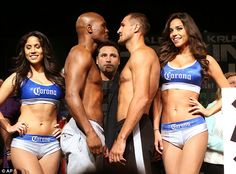 Hopkins (left) faces the Russian Sergey Kovalev in Atlantic City as he looks to unify the ...
