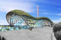 A design of what the new proposed aquatic centre could look like in Rhyl to replace the Sun Centre North Wales, Centre, To Go, Sun, Projects, Travel, Design, Log Projects, Blue Prints