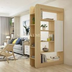 Top 40 Modern Partition Wall Ideas in 2020 Living Room Partition Design, Living Room Divider, Room Partition Designs, Living Room Decor, Diy Furniture, Furniture Design, Home Interior Design, Living Room Designs, Diy Home Decor