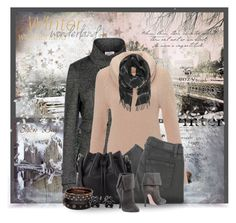 """""""Love of Winter... Sweater and Jeans"""" by jackie22 ❤ liked on Polyvore featuring Armani Collezioni, Monsoon, Paige Denim, Proenza Schouler, Jean-Michel Cazabat, Hring eftir hring, women's clothing, women, female and woman"""