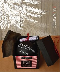 Chalkboard XMAS Ornament. Boxed ornament with set of by dESIGNinvi