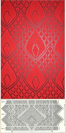 17 Ideas Knitting Machine Shawl Yarns – Awesome Knitting Ideas and Newest Knitting Models Lace Knitting Stitches, Knitting Machine Patterns, Lace Knitting Patterns, Knitting Charts, Lace Patterns, Stitch Patterns, Free Knitting, Tricot D'art, Knitting Projects