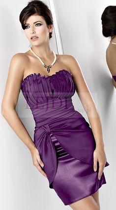 Purple mini dress / Fioletowa mini sukienka