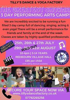 tillysdancefactory | HOLIDAY CAMPS & FAMILY YOGA Family Yoga, Day Camp, School Holidays, Acting, Singing, Workshop, Dance, Fun, Dancing