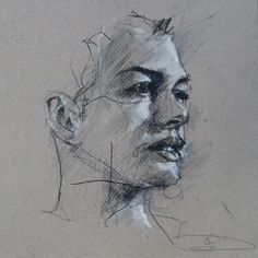 Guy Denning, born in North Somerset, has been obsessed with visual art since childhood and started painting in oils at the age of eleven after receiving a set of old paints from a relative that had grown bored with them. Art Drawings Sketches, Easy Drawings, Pencil Drawings, Pencil Art, Pencil Portrait, Portrait Art, Abstract Painters, Life Drawing, Drawing Drawing