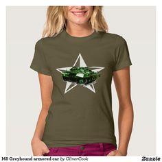 M8 Greyhound armored car T-shirts