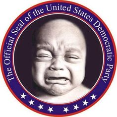 The newly adopted seal of the Democratic party. Have a laugh with some election 2000 humor. Liberal Crybabies, Out Of Touch, Thats The Way, God Bless America, America 2, Democratic Party, Cry Baby, In This World, Presidents