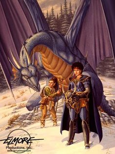 Larry Elmore - Dragons of Winter Night 2 - Dragonlance
