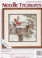 """ru / Chispitas - Альбом """"cat with birds"""" Xmas Cross Stitch, Cross Stitch Needles, Cross Stitch Charts, Cross Stitch Designs, Cross Stitch Patterns, Cat Cross Stitches, Cross Stitching, Cross Stitch Embroidery, Winne The Pooh"""