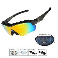 ROCKBROS Polarized Cycling Bike Goggles Glasses Outdoor Sport Sunglasses