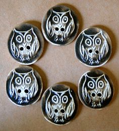 owl buttons - Google Search