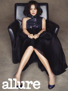 Moon Geun Young is flawless rocking her new short hairdo for 'Allure'   allkpop.com