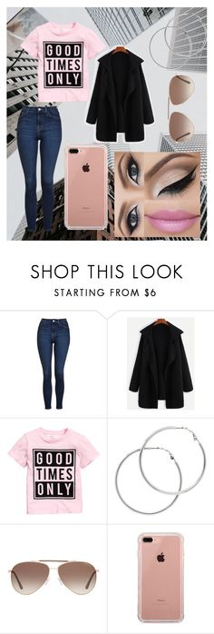 """""""Life In The City"""" by lucyhazlett1 ❤ liked on Polyvore featuring Topshop, Melissa Odabash, Tom Ford and Belkin"""