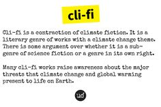 Literary Genre, Global Warming, Climate Change, Fiction, Science, Life, Fiction Writing, Science Fiction