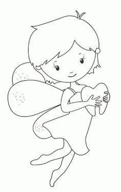 Peri kızı boyama sayfası, Fairy girl coloring page, Página para colorear de niña de hadas, Сказочная страница феи-девушки. Fairy Coloring Pages, Coloring Pages For Girls, Health Activities, Diy Home Crafts, Tooth Fairy, Creative Art, Hello Kitty, Preschool, Anna