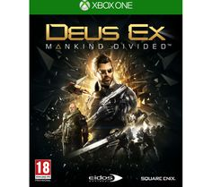 XBOX ONE  Deus Ex: Mankind Divided Price: £ 42.99 After an event which caused the deaths of millions of innocent lives around the world due to mechanically enhanced citizens losing control of their minds and bodies, Deus Ex: Mankind Divided follows the aftereffect in the year 2029. The augmented humans have been isolated and exiled from the rest of civilization. Calls of conspiracy of an...