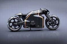 Lotus представил прототип мотоцикла под собственной маркой