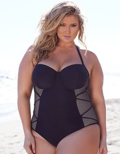 3f3a53d9d3 730 Best Plus Size Swimwear images in 2019 | Plus size swimsuits ...