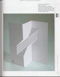 """Photo from album """"The Pop-Up Book"""" on Yandex. Kirigami Templates, Origami And Kirigami, Paper Crafts Origami, Box Templates, Arte Pop Up, Pop Up Art, Willem De Kooning, Graffiti Art, Libros Pop-up"""