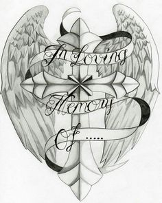 In loving memory tattoo idea