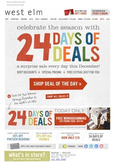 Image result for 12 days of christmas promotion ideas