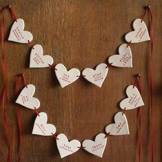 Image of 12 days of christmas garland