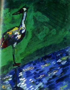 Marc Chagall & Jean de La Fontaine ~ Favole a Colori   Tutt'Art@   Pittura * Scultura * Poesia * Musica  
