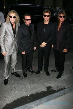 David Bryan, Tico Torres, Jon Bon Jovi and Richie Sambora Recording Academy Honors hosted an evening honoring Bon Jovi,