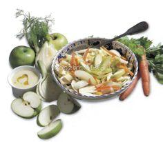 Téli saláta gorgonzolás öntettel   Receptek