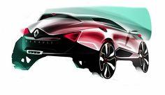 Renault SUV Sketch