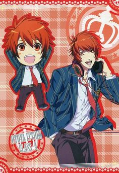 Uta no Prince sama Purinsu big postcard official Japan Ittoki Otoya