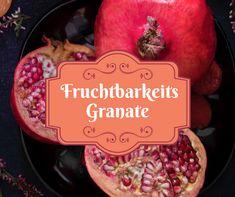 Der Granatapfel steht seit jeher für Schönheit, Jugend, Liebe, Fruchtbarkeit und für das pralle Leben.... Food, Garnet, Fertility, Pomegranate, Youth, Love, Meals