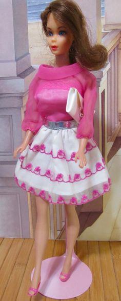 Vintage Barbie Brunette Flip Flip Hair And by DressMeDoll on Etsy