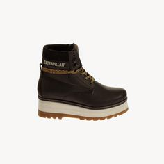 #CatFootwear Women's High Hopes boot in Black, $120 #SS15