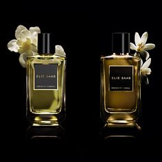 eliesaabworld: Two scents with La Collection des Essences play across this symphony of whites in syncopated notes of Jasmine Iris Butter and Orange Blossom blooms. Discover more on Wedding Forrest, Orange Blossom, Elie Saab, Jasmine, Iris, Wax, Perfume Bottles, Fragrance, Butter