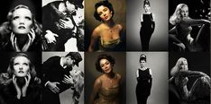 Natural light photographer, Sue Bryce recreates iconic Hollywood images using famous female photographers to learn about studio lighting. Hollywood Images, Vintage Hollywood, Hollywood Glamour, Classic Hollywood, Hollywood Lights, High Fashion Photography, Glamour Photography, Photography Women, Portrait Photography