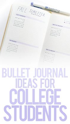 Ideas For College Students Bullet journal page ideas for college students. I'll show you some good school schedule layouts grade trackers study log ideas and more!Bullet journal page ideas for college students. I'll show you some good school schedule . Bullet Journal Planner, How To Bullet Journal, Bullet Journal Printables, Bullet Journal School, Bullet Journal Writing, Bullet Journal Layout, Bullet Journal Ideas Pages, Bullet Journal Inspiration, Journal Pages