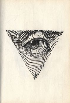 All seeing Eye by #Ivan_Meshkov #art #illustration