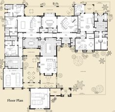 Floor Plans For Luxury New Homes