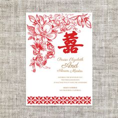 9 best wedding cards chinese images on pinterest wedding cards diy printable editable chinese wedding invitation card template instant downloadelegant tradition stopboris Gallery