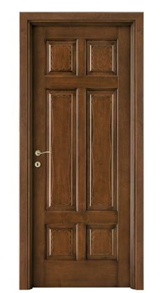 FORMELLE : - Indoor door / swing / solid wood / with fixed leaf by legnoform srl Wooden Front Door Design, Wooden Front Doors, Wood Doors, Wooden Gates, Bedroom Door Design, Door Design Interior, Indoor Doors, Decoration, Solid Wood