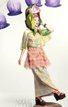 Editorial from Vogue Girl Korea, April 2011