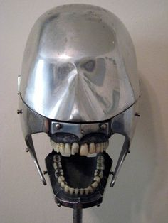 Dental Phantom with Steel Gums and Teeth c.1930