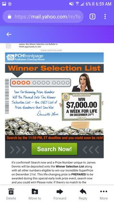 Lotto Winning Numbers, Winning Lotto, Lotto Numbers, Instant Win Sweepstakes, Online Sweepstakes, Win For Life, Winner Announcement, Publisher Clearing House, Application Letters