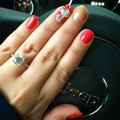 Ignore the manicure - the ring is pretty