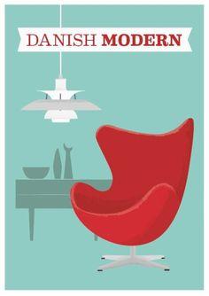 Poster - Danish Modern